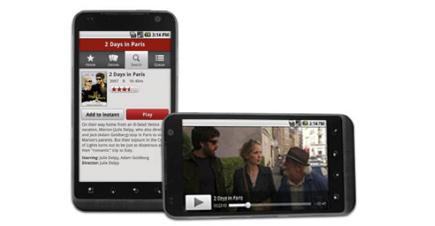 Netflix finally arrives on the Android Market, supports 5 devices to start      (Yahoo! News)