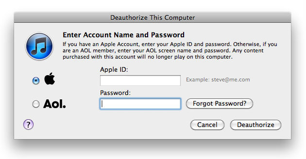How to deauthorize your computers in iTunes      (Yahoo! News)