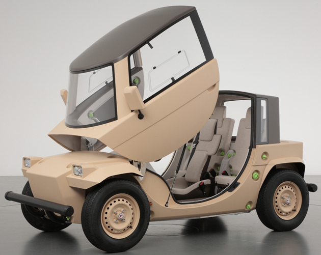 Toyota Camatte Concept Car Offers Children A Chance To Drive