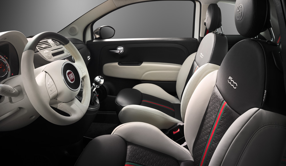 fiat 500 gucci edition taps into masculine insecurities motoramic drives. Black Bedroom Furniture Sets. Home Design Ideas