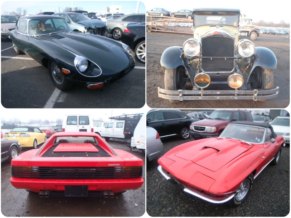 Classics flooded by Sandy still waiting for salvage lot saviors