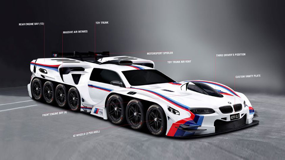 Bmw Makes 4 Year Old S Dream Come True By Designing A 19