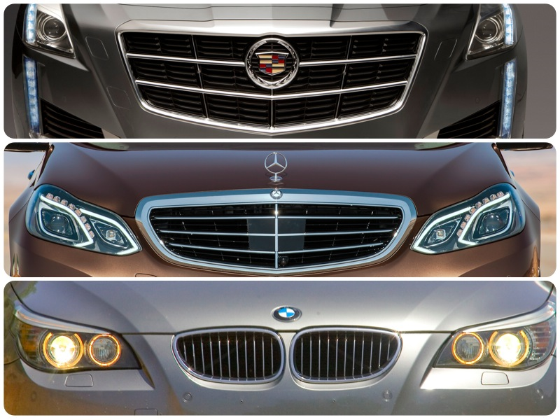 Tale Of The Tape Cadillac Cts Vsport Vs Bmw 550i Vs