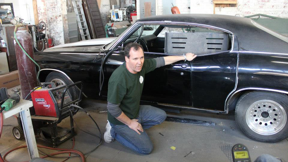 Inside One Hot Rodder S Drive To Build Muscle Cars For