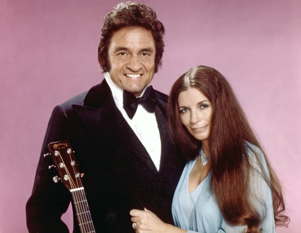 The rock s backpages flashback at home with the man in black for Pictures of johnny cash and june carter