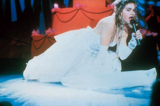 How Madonnas 1984 VMAs Wedding Dress Wed Her To Pop Culture Forever