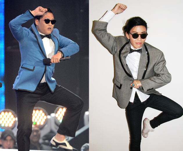 PSY photo by Kevin Mazur/WireImage
