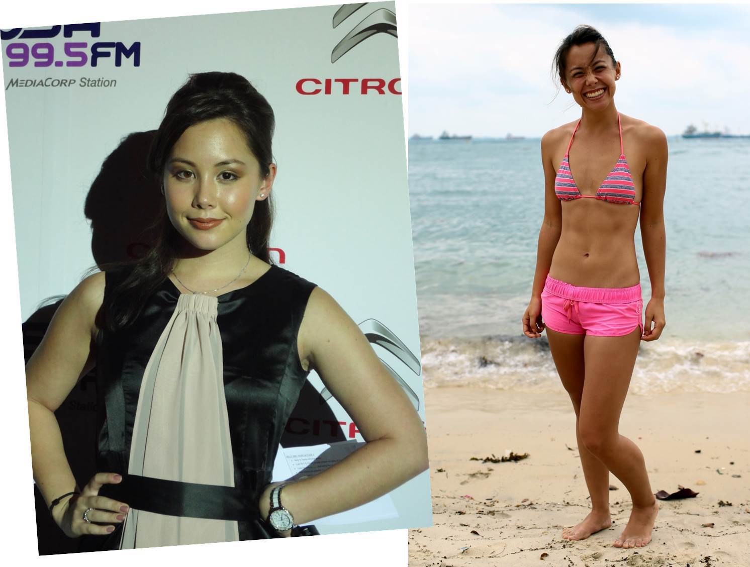 Singapore TV host Kelly Latimer's stunning physical ...