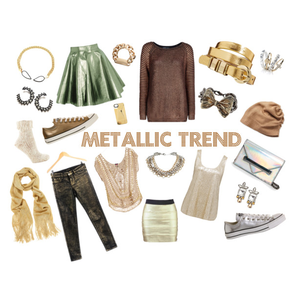 Glitter and heavy metal fashion: How to wear the metallic ...