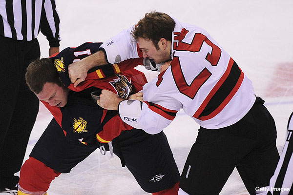 the tradition of fighting in hockey Still today, there is a continued debate on whether fighting should be allowed or banned in the national hockey league (nhl) in generalization, most people see that physically fighting someone, fist-to-fist, is a negative conflict.