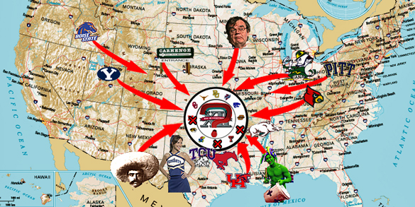 Welcome World League Of Beauty And Fashion Official Web: The Big 12 Expansion Wheel Spins Again: Where She Stops