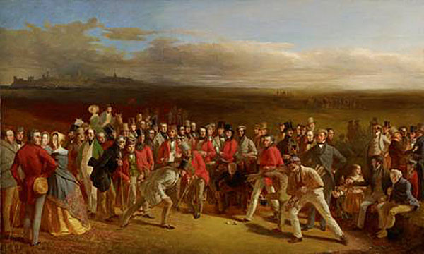 Famous Golf Painting Coming From Scotland To America