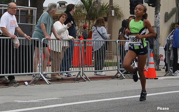 California track star Sydney Tullai