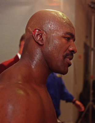 Evander Holyfield Wanted To Bite Mike Tyson To Get Even