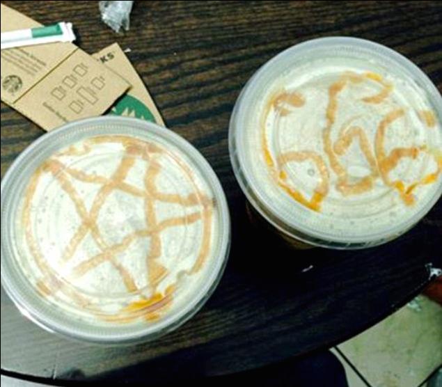 Symboles sataniques dans son latté: Cliente de Starbucks est outrée... Screen-Shot-2014-04-01-at-1.53.11-PM